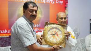 Saugat to Harjivan Bhai - Ex Deputy Mayor, Vadodara